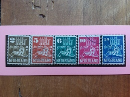 OLANDA Anni '40/'50 - Nn. 542/46 Timbrati + Spese Postali - Used Stamps