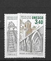 1986 MNH Unesco,  Mi 37-38 Postfris** - Ongebruikt