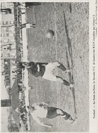 PHOTO PRESSE  DOCUMENT   17 Cm  X  12    Cm  STADE DE PARIS  SERVETTE F.C.GENEVE BAT R.C.F.-LEVALLOIS 4-3 - Football