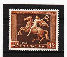 RAD79 DEUTSCHES REICH  1938 MICHL 671 Y ** Postfrisch ZÄHUNG SIEHE ABBILDUNG - Deutschland