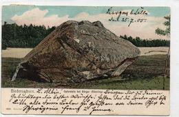 DC385 - Niedersachsen Opferstein Bei Börger 1905 - Andere