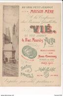 Carte Publicitaire Au Vrai Petit Jeannot Vié 4 Rue Mariès à ALBI ( Format 13,5 X 10 Cm ) - Albi