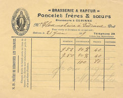 Brasserie Poncelet Gedinne - 1900 – 1949