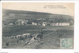 Carte  Les Cévennes Pittoresque COUCOURON  ( Vache ) - France