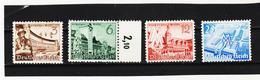 RAD277 DEUTSCHES REICH  1940 MICHL 739/42 ** Postfrisch ZÄHUNG SIEHE ABBILDUNG - Deutschland