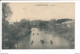Carte De Montpellier Le Lez - Montpellier