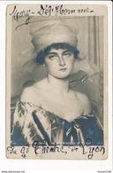Carte écrite Par Mary Del'homme Du Grand Théâtre De Lyon ( Artiste Habitant 3 Rue Pierre Corneille à Lyon  ) Année 1908 - Artistes