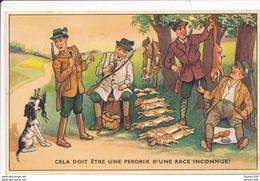 Carte Humoristique Sur La Chasse ( Format C.P.A ) Série 53939/1 - Humour