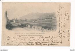 Carte Précurseur  De Chevreuse  Château De La Madeleine Vu De La Route De Saint Rémy à Chevreuse  ( Recto Verso ) - Chevreuse
