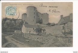 Carte De Villentrois  Ruines Du Château  ( Recto Verso ) - Francia