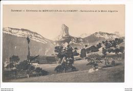 Carte Des Environs De MONESTIER DE CLERMONT Savouraire Et Le Mont Aiguille  ( Recto Verso ) - France