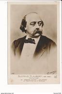 Carte De Romancier ( écrivain ) Gustave Flaubert    ( Recto Verso ) - Scrittori