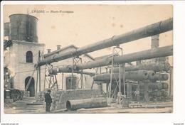Carte De CHASSE  Hauts Fourneaux ( Recto Verso ) Mauvais état - Other Municipalities
