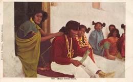 MOQUI INDIAN GIRLS-AMERICAN NATIVE AMERICAN POSTCARD 44226 - America