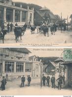 Lot De 2 Cartes De La SCHLUCHT Frontière Franco Allemande / Douaniers - Autres Communes