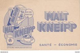 BUVARD Malt Kneipp à Juvisy Sur Orge   ( Recto Verso ) - Koffie En Thee