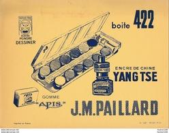 BUVARD  Encres De Chine Yangtse  Yang Tse J.M. PAILLARD - Papeterie
