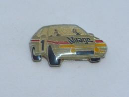 Pin's VOITURE 468, VIRAGE - Pins