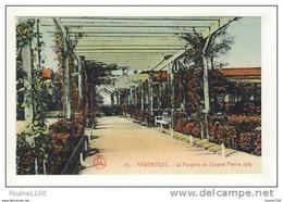 Carte D' Argenteuil La Pergola Du Square Pierre Joly - Argenteuil