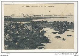 Carte De Carnac Vue De La Côte  à Marée Basse - Carnac