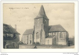 Carte De Nouzilly L' église  ( Peu Courante ) - Non Classés