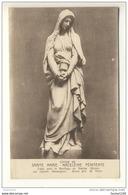Carte De La Statue De Sainte Marie Madeleine Pénitente Créée Pour La Basilique De Vézelay Par Charles Desvergnes - Vezelay