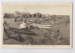 FOS SUR MER - Vue De La Plage - LE LOUEUR DE CANOTS - Animée - Métiers
