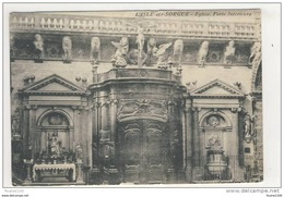 Carte De  L' Isle Sur Sorgue église Porte Intérieure - L'Isle Sur Sorgue