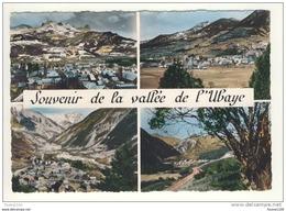 Carte ( Format 10,5 Cm X 15 Cm ) De La Vallée De L' Ubaye - France