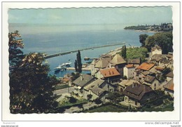 Carte De Thonon Les Bains Le Port Et La Pointe De Ripaille - Thonon-les-Bains