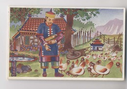 CHINOIS Et Ses Poules - De Zilveren Spiegel - Illustration - Chine - China