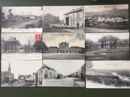 9 Cartes Postales Des Ardennes - France