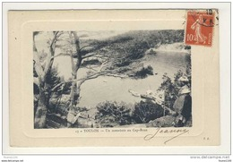 Carte De Toulon Cap Brun Sous Bois   ( Recto Verso ) - Toulon