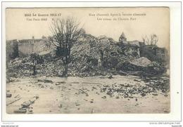 Carte Du Château Fort De Ham Retraite Des Allemands  ( Ruines De La Guerre ) ( Recto Verso ) - Ham