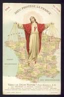 Map - Dieu Protege La France - PAX Te Cum - Voici Le Divin Maltre! - Guerre 1914-18