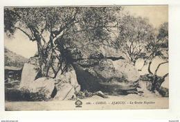 Carte  D' Ajaccio La Grotte Napoléon   ( Recto Verso ) - Ajaccio