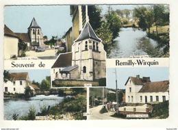 ## PEU COURANTE ## Carte De Remilly Wirquin ( Format 15 X 10,5 Cm ) ( Recto Verso ) - France