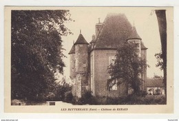 Carte  Les Bottereaux Château De Rebais  ( Recto Verso ) - Francia