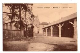 (72) 2310, Mamers, Tourte Et Petitin, Institution Saint-Paul, Le Nouveau Préau - Mamers