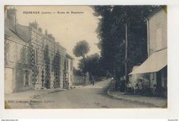 ## PEU COURANTE ## Carte De Puiseaux Route De Beaumont  ( Recto Verso ) - Puiseaux