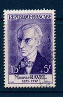 FRO 1956  Célébrités De XVe Au XXème Siècle :  Maurice Ravel  N°YT 1071 (ex1) - Oblitérés