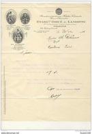 FACTURE Illustrée De La Bonneterie DOUE & LAMOTTE  à TROYES ( Recto Verso ) - 1900 – 1949