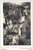 LA BILLAUDE Station Des Cyclamens  Cascades Et Le Belvédère ( Format C.P.A )  ( Recto Verso ) - France