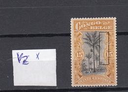 CONGO BELGE  : Ocb Nr  52 -V2 * MH (zie Scan) - 1894-1923 Mols: Nuevos