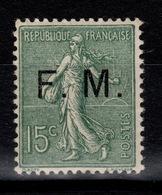 Franchise - Signé Calves - YV 3 N* Semeuse Bien Centrée Cote 80+ Euros - Militärpostmarken