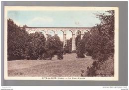 Carte De Rive De Gier Le Pont D' Arcole ( Recto Verso ) - Rive De Gier