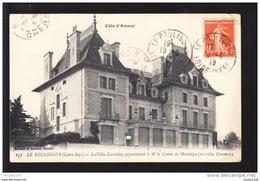 Carte Le Pouliguen  La Villa Caroline Appartenant Le Comte De Montaigu ( Ex Villa Crosnier )  ( Recto Verso ) - Le Pouliguen