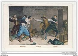 Carte La Scabieuse 97 Rue De L' Hôtel De Ville à Lyon ( Meissonier La Rixe Londres )( Illustration ) - Other