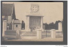 CARTE PHOTO SAINTE MARIE KERQUE MONUMENT AUX MORTS  VOIR SCANNE - France