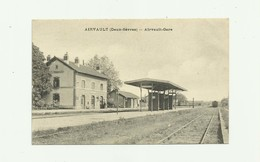 79 - AIRVAULT - La Gare Petite Animation Bon état - Airvault